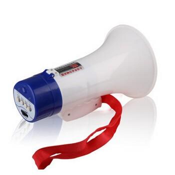 木兰王 ML-687锂电录音喇叭手持喊话器大声公售货叫卖折叠扩音器