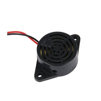 vexg 蜂鸣器 电子蜂鸣器 讯响器 DC3V DC6V DC9V DC12V DC24V 黑色连续声