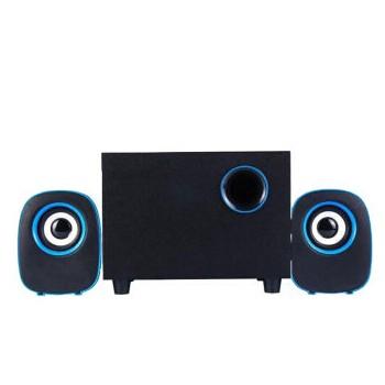 乐放裂纹炫光 台式迷你小电脑音箱音响桌面低音炮套装 多媒体喇叭影响小钢炮扬声器扩音器播放器