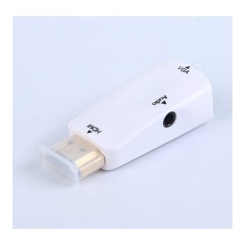 HDMI转VGA带音频 转换器 连接线 厂家直销