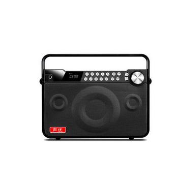 声优Q7蓝牙音箱广场舞便携式重低音带话筒