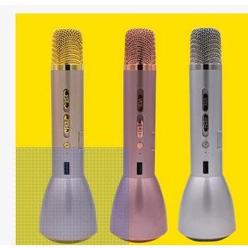 厂家直销K088唛克风K歌神器 蓝牙无线 手机连接充电 支持一件代发