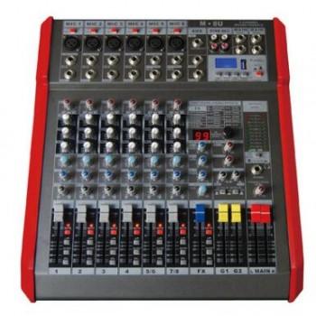 M-8U专业8路调音台 USB调音台 蓝牙调音台