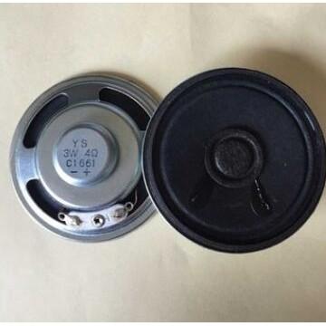供应喇叭 50mm铁壳外磁4欧3w喇叭 电脑机箱扬声器 楼宇对讲系统