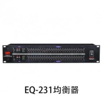 EQ-231 双31段专业电子均衡器