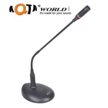 热销 安琪特电容会议系统鹅颈台式麦克风话筒有线电脑USB主播YY