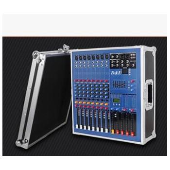 厂家直销 D&L PSL-380USB 8路专业调音台功放一体机