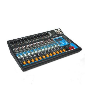 厂家直销DR系列 12路调音台2.4英寸液晶屏显示家庭KTV舞台演出设