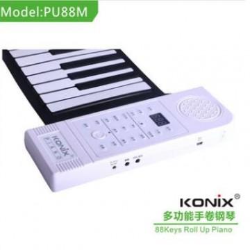 128种音色88键电子钢琴 MIDI输出电子钢琴 支持延音颤音
