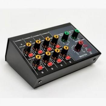 8路混音器带每路独立混响效果器集线器话筒麦克风信号乐器扩展器