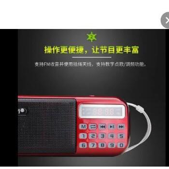 伴你行B-898数字点播机 插卡老年人收音机 戏曲圣经佛经播放机