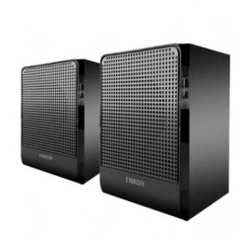 恩科E300 有源多媒体笔记本台式机电脑音响 木质2.1音箱低音炮
