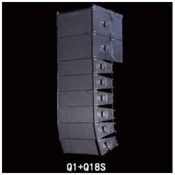 供应 双10寸线阵音箱 专业音箱 舞台音箱 卡拉OK音箱