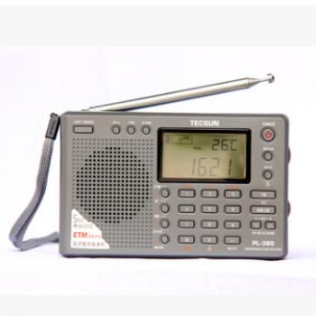 Tecsun/德生 PL-380全波段老年人广播四六级46听力高考考试收音机