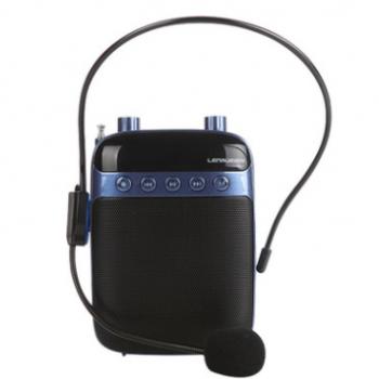 蓝悦小蜜蜂扩音器多功能教师扩音机腰挂喊话器导游插卡老人收音机