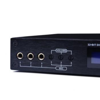 磐道数字前级效果器批发 音频DSP处理器 家庭混响音效防啸叫