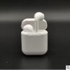 2018跨境数码 爆款白色耳机透明款I7s tws带充电盒 蓝牙耳机新款
