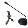 厂家直销有线电脑USB会议麦克风 C-035录音麦克风鹅颈电容式话筒