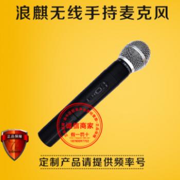 浪麒话筒 广场舞音响 无线多媒体促销舞台乐器吉他演讲开会移动