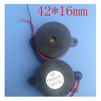 厂价直销报警蜂鸣器BUZZER3-24V 压电有源蜂鸣器HYD-4216QCPASS