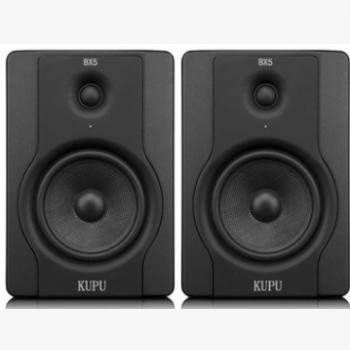 KUPU专业有源监听音箱5寸bx5d2/8寸bx8d2 家用书架hifi音箱
