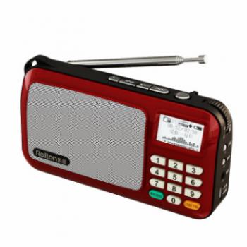 Rolton/乐廷收音机 W505老人迷你小音响便携式插卡音箱MP3播放器