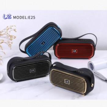 蓝牙音箱 E25厂家直销户外便携手提式音响赠礼品便携式小音箱USB