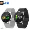H2钢表带智能手环心率血氧监测运动手环信息推送蓝牙计步智能穿戴