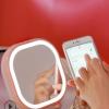 2019新款LED化妆镜台灯音响美容随身镜卧室梳妆镜多功能充电便捷