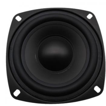 4寸苹果型纸盆中低音喇叭蓝牙音箱喇叭 6欧25W外磁扬声器厂家供应