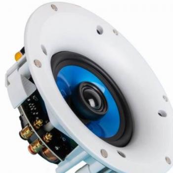 厂家直销5寸家用吸顶扬声器高保真嵌入式天花喇叭定阻吊顶音响