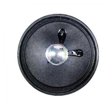 现货供应3寸全纸圆形外磁32磁喇叭76纸膜喇叭4欧3W 扩音收音机喇