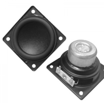 57mm方形全频音箱DIY高端喇叭 241内磁式高端音箱扬声器喇