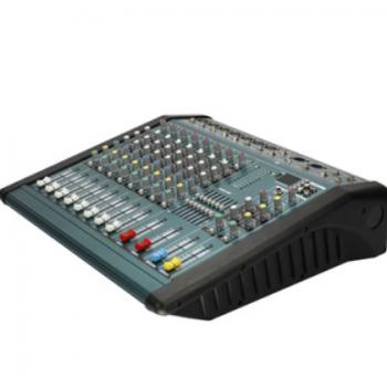 专业调音台大功率调音台带功放一体机带USB MP3舞台演出设备