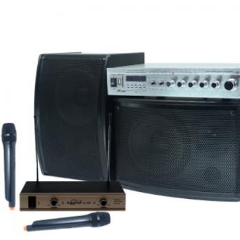 哈乐迪KTV音响家庭电视音箱家用卡拉OK会议工程学校批发专业套装