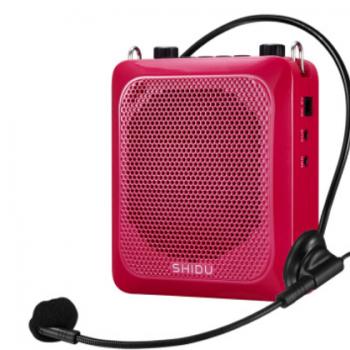 十度 s516小蜜蜂扩音器有线教学教师专用大功率腰挂导游扩音器