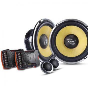 欧韵汽车音响 凯跃6.5寸两分频汽车扬声器 车载扬声器 KY-S650