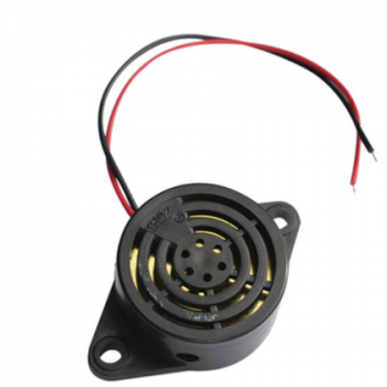 厂家批量供应 SFM-27黑网 蜂鸣器 连续声有源压电式蜂鸣器