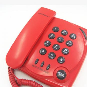 厂家直销普通台面挂墙电话分机床电话酒店电梯电话机
