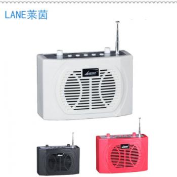 lane莱茵SH-03W教学导游喊话器 插卡便携式迷你腰包扩音器