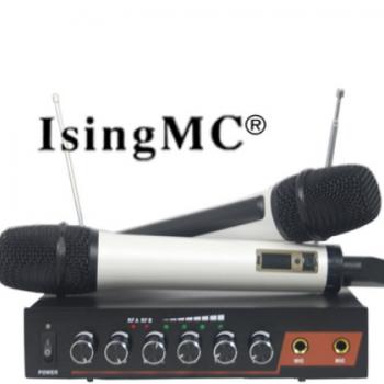 主播无线插声卡带混响话筒电脑家用智能电视K歌麦克风厂家批发