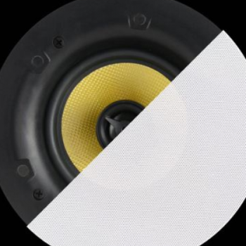 德国伯格曼 K5窄边定阻音响扬声器 吸顶喇叭 高保真同轴防潮音箱