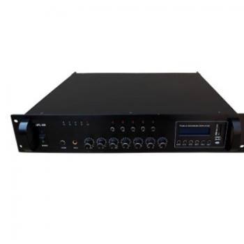 调音师650W 五分区专业背景音乐功放独立音量控制定压功放机