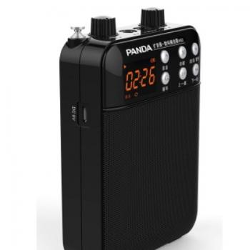 熊猫无线麦克扩音机教师专用无线话筒户外导游老师小蜜蜂扩音器