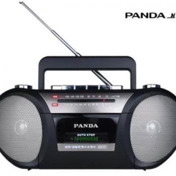 PANDA/熊猫 6600磁带收录机卡带录音机 小微型磁带机收录播放机