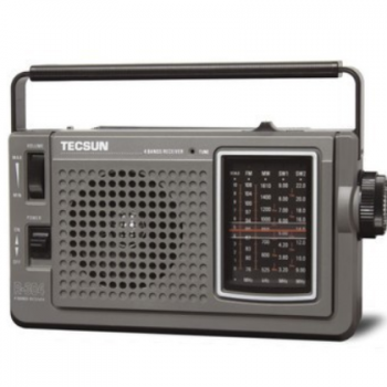 大量批发德生R-304P 高灵敏度调频/中波/短波收音机(老人专用)