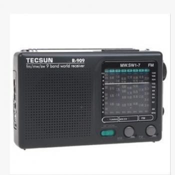 Tecsun/德生 R-909老年人收音机全波段便携式fm调频广播半导体