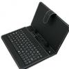 平板电脑通用键盘皮套 保护套 外壳 黑色 10寸平板键盘皮套