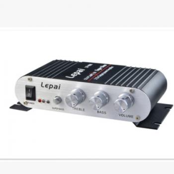 LP-808 功放 乐派功放 12V直流高保真小功放 高档铝外壳