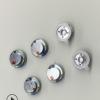 10mm加布加调音纸超低音5孔tws入耳式蓝牙耳机通用环保3寸喇叭